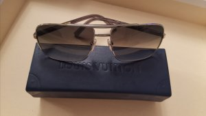 Louis Vuitton Angular Shaped Sunglasses silver-colored