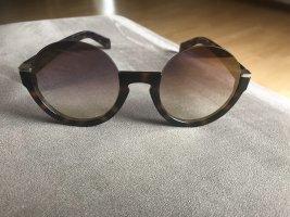 Marc Jacobs Occhiale stile retro marrone-nero-marrone