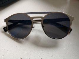 Marc Jacobs Lunettes de soleil rondes argenté-bleu foncé métal