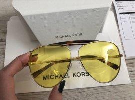 Michael Kors Oval Sunglasses yellow