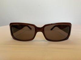 Pierre Cardin Angular Shaped Sunglasses violet polyacrylic