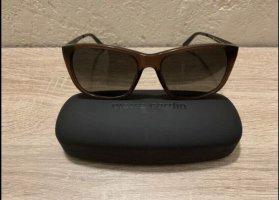 Pierre Cardin Angular Shaped Sunglasses black brown