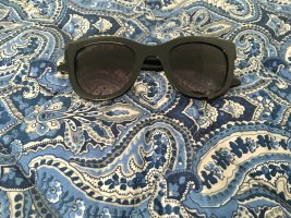 Primark Square Glasses black synthetic material