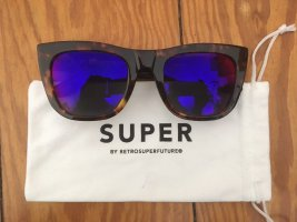 Retrosuperfuture Round Sunglasses multicolored