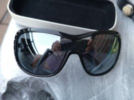 The Sting Angular Shaped Sunglasses black-silver-colored