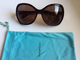 Tiffany&Co Gafas Retro marrón oscuro