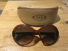 Round Sunglasses black brown-brown