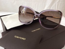Tom Ford Ovale zonnebril grijs-paars