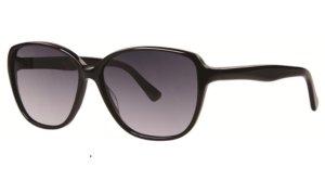 Vera Wang Lunettes de soleil ovales noir