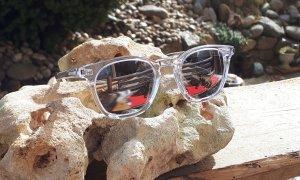 Saint Laurent Kwadratowe okulary przeciwsłoneczne Wielokolorowy Poliakryl