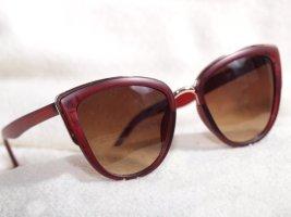 """Sonnenbrille """"weinrot"""""""