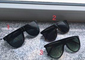 Sonnenbrille XXL H&M Fashion Nova 3x Sunglasses Shades Set Asos Schwarz