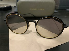 Charles & Keith Retro Glasses multicolored metal