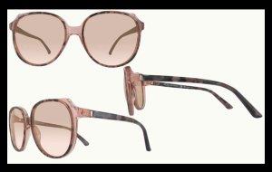 Calvin Klein Lunettes de soleil ovales brun