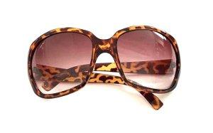 H&M Lunettes de soleil rondes brun-marron clair