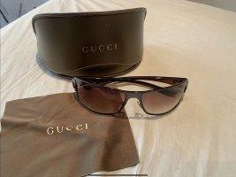 Gucci Glasses brown-bronze-colored