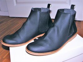 Chelsea Boots black imitation leather