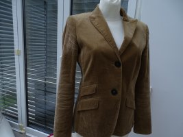 Sortlicher Blazer - Cord - WINDSOR - warmes Beige - GR 38