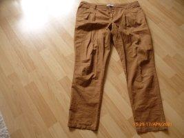 Rebel Pantalone di lino multicolore Cotone