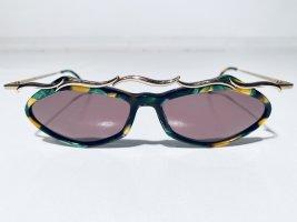 Spektakuläre Vintage Robert Rüdger Designer-Sonnenbrille 670-49 - 80er