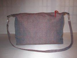 *RED ANGEL UNIKAT* Designertasche     Exklusiver gefütterter Shopper  100% Reine Seide  Changierende Farben   Puristisches Design