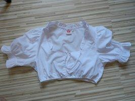 Spieth & Wensky Blusa tradizionale bianco Cotone