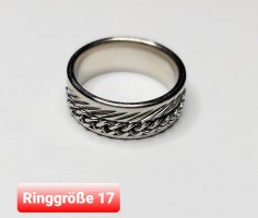 SPINNER Ring aus Chirurgenstahl