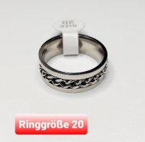 Spinner Ring Ring aus Chirurgenstahl