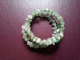 Bangle white-lime-green
