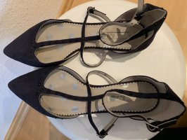 Boden Mary Jane Ballerinas dark blue-black
