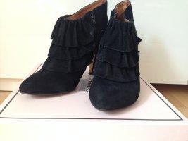spitze Form! schwarze -Stiefeletten, Größe 39, Marke Friis & Company