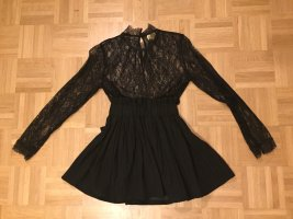 H&M Lace Blouse black