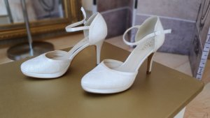 Bianco Evento Strapped High-Heeled Sandals natural white-white