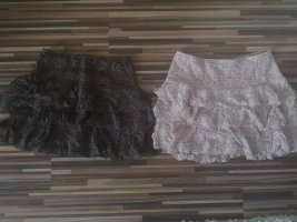 H&M Tulle Skirt rose-gold-coloured-grey brown
