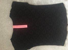 Pimkie Netshirt zwart-neonroos
