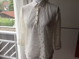 Sure Kanten blouse wit-wolwit