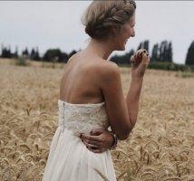 Spitzenkleid Lace Nude Kleid Ballerina