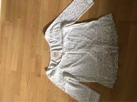 Hollister Bodysuit Blouse white