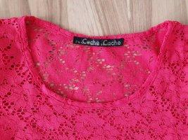 Cache & Cache T-shirt rose-magenta