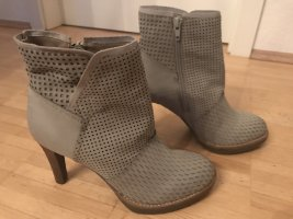 Spm Zipper Booties light grey