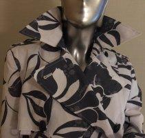 SPOON Trench Coat white-black