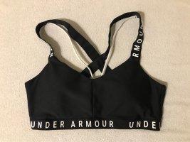 Under armour Top deportivo sin mangas negro-blanco