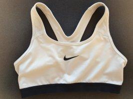 Nike Top sportowy biały-czarny