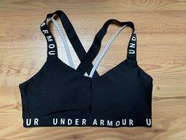 Under armour Canotta sportiva nero-bianco