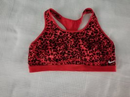 Nike Bustier Top red-black mixture fibre
