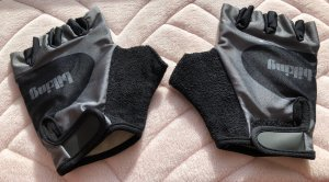 Fingerless Gloves black-anthracite