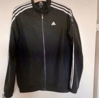 Adidas Veste de sport noir-blanc
