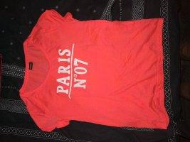 Only Sports Shirt neon orange