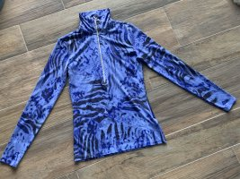 Conte of Florence Sports Shirt neon blue-black