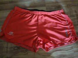 Szorty sportowe łosowiowy-jasnoczerwony